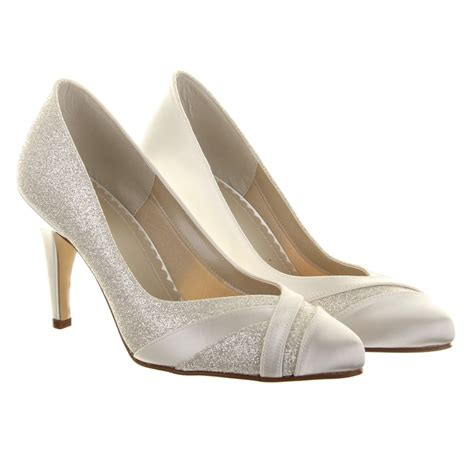 rainbow shoes rainbow club wide fit mila wedding shoes