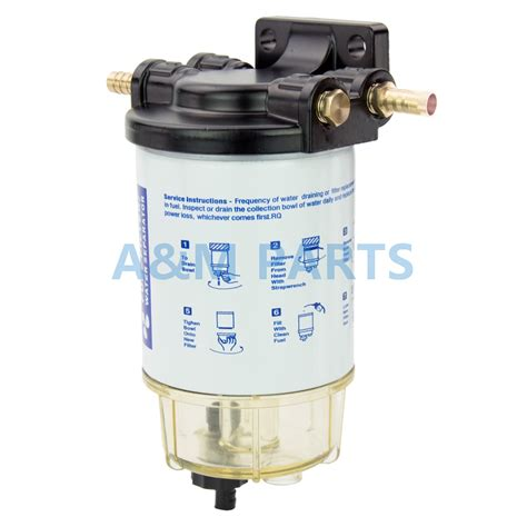 fuel water filters for boats boat fuel filter marine engine fuel water separator for