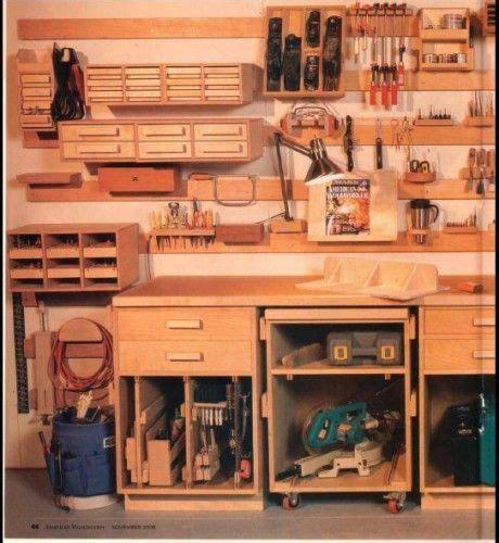 Tool Storage In Garage by Wood Garage Tool Storage Ideas Garage And Shop