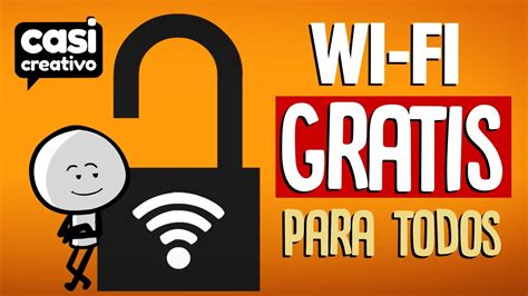 Wifi Gratis wi fi gratis para todos casi creativo