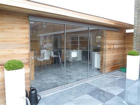 glaswand veranda glaswanden voor terrasoverkappingen indecon veranda op
