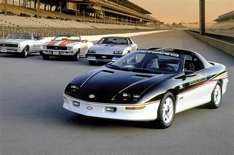 what year did chevrolet start the 1993 camaro the start of the generation that was