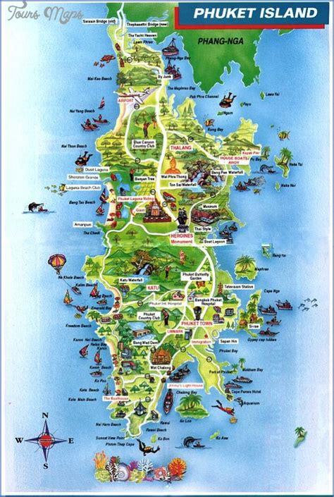 phuket map toursmapscom