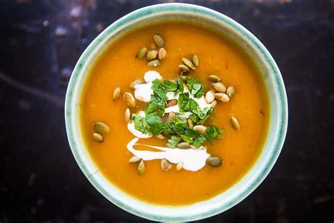 chipotle pumpkin soup recipe simplyrecipes com