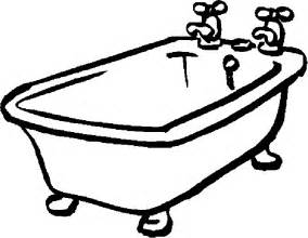 picture of bathtub free bathtub coloring pages