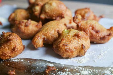 cornmeal hush puppies fried green tomato hush puppies jess pryles