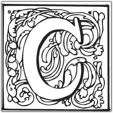 block letter c coloring page fancy block alphabet coloring page 2 png 525 215 525