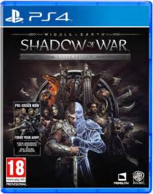 middle earth shadow war silver edition ps4 zavvi