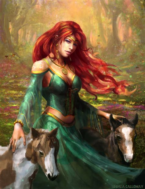 Art Deities And Goddesses On Pinterest | epona by joshcalloway deviantart com on deviantart