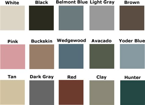 Door Paint Color Chart by Front Door Color That Goes With Light Grey Vinyl Of