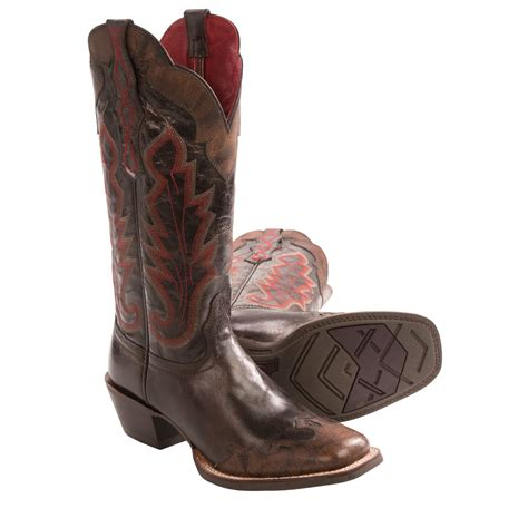 ariat caballera cowboy boots square toe for in