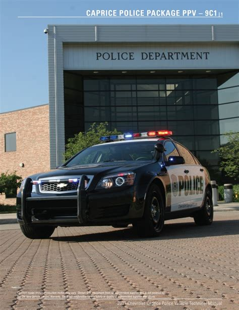 2011 chevrolet caprice 2011 chevrolet caprice ppv detective package review