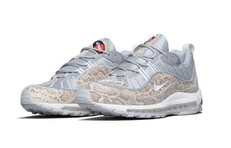 air supreme supreme nike air max 98 snakeskin sneaker bar detroit