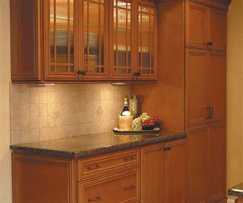 Maple Glazed Kitchen Cabinets Glazed Maple Kitchen Cabinets