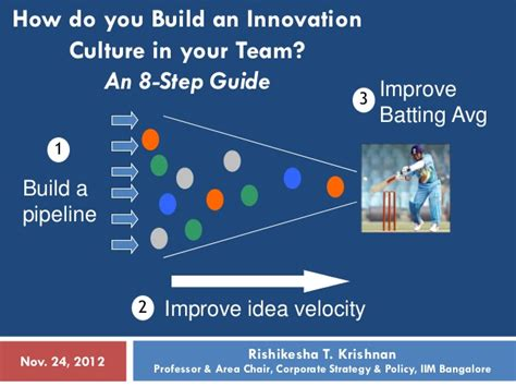 how do you a guide how do you build an innovation culture in your team an 8 step guide