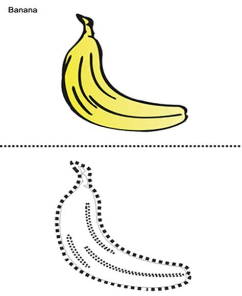 printable banana images banana printable coloring worksheet