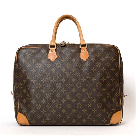 louis vuitton monogram laptop bag  stdibs
