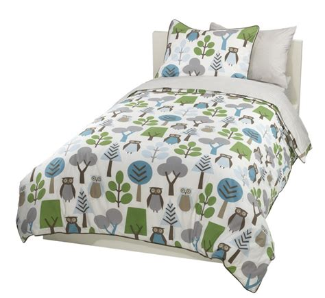 cute owl bedding for a fun owl bedroom