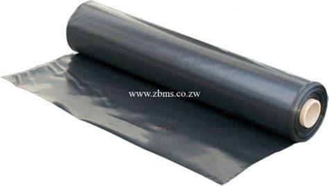 rolls black polythene plastic sheets zimbabwe building