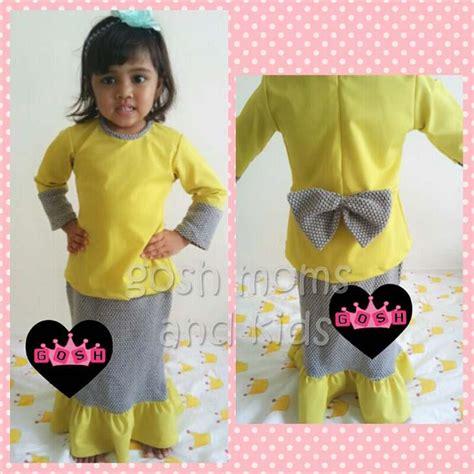 Baju Kurung Cotton Kanak Kanak gosh natalie d baju kurung bayi end 4 30 2015 3 15 pm