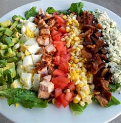 steaknpotatoeskindagurl cobb salad