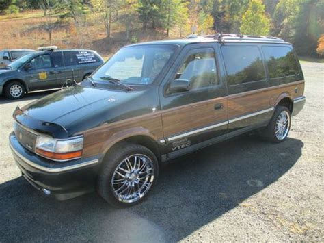Chrysler Town And Country All Wheel Drive by Find Used 1992 Chrysler Town Country Custom All Wheel