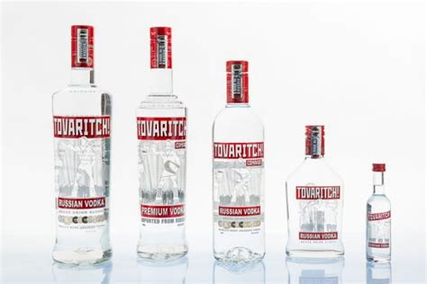 The Launch Of Premium Vodka tovaritch to unveil new 3d marketing visual at vinexpo