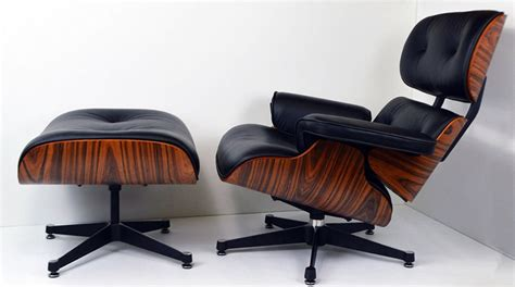 eames style recliner charles eames style leather lounge chair specialist