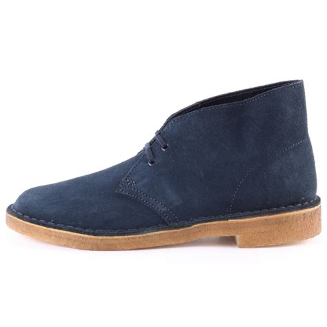 mens desert boot clarks originals desert boot mens ankle boots in navy