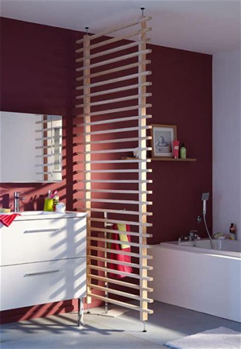 Impressionnant Peindre Carrelage Sol Salle De Bain #4: cloison-en-bois-amovible-pour-separer-salle-de-bain.jpg