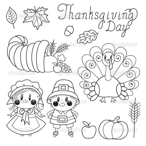 coloring pages thanksgiving day thanksgiving day coloring pages for childrens printable