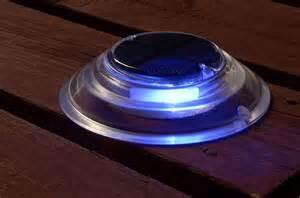 solar post lights for decks solar dock amp deck lights simple glow simple glow