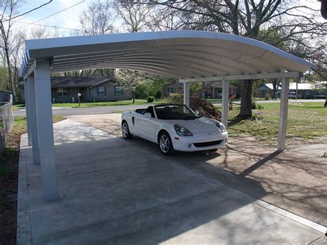 2 Car Car Port by Steelmaster Metal Two Car Carport Metal Two Car Carport