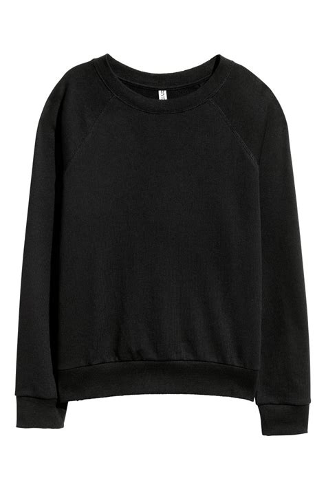 Hm Sweater Invert Fit Xl sweatshirt black h m us