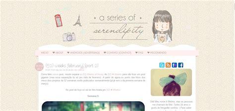 layout de blog gratis eu leio a series of serendipity blog coisas de laurinha