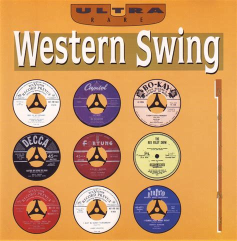 what is western swing quot the rockin gipsy quot ultra rare quot western swing vol 1 quot
