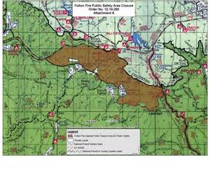arizona national forest map inciweb the incident information system fulton large map