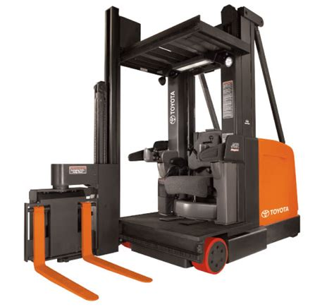 swing reach raymond 9000 series swing reach forklift toyota material