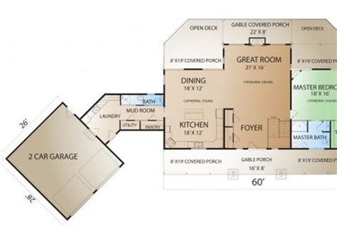 House Plans With Inlaw Apartment Ranch Style Open Floor Plans Open Floor Plans Ranch Style