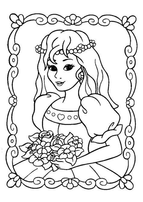 Imprimer Coloriage Gratuit Princesse