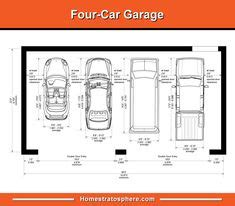 Dimension Box Garage by 7 Best Garage Dimensions Images Parking Lot Build House
