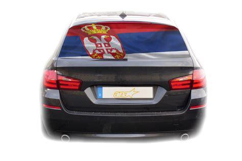 Aufkleber Auto Innen by Auto Kfz Heckscheibe Fenster Aufkleber Sticker Serbien Fahne 2
