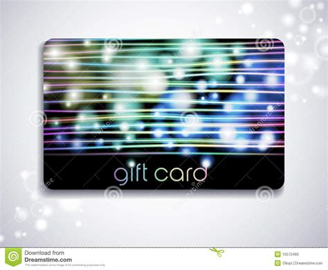 Rainbow Gift Card - rainbow gift card stock photo image 15572460