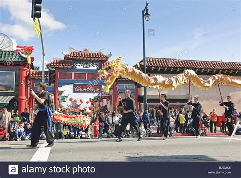 new year parade california new year parade in chinatown of los angeles