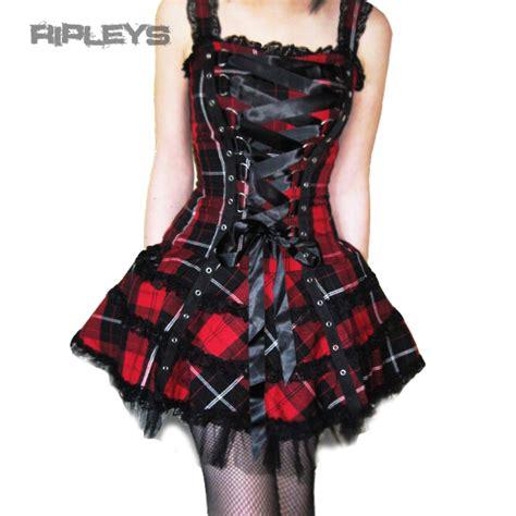 Mini Dress Volture hell bunny club mini dress harley tartan