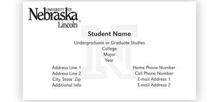 business card templates for graduate students graduate student business cards template 4 best