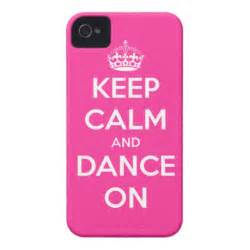 keep calm and dance on iphone case zazzle