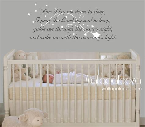 Angel Wall Stickers now i lay me down to sleep wall decal prayer wall decal
