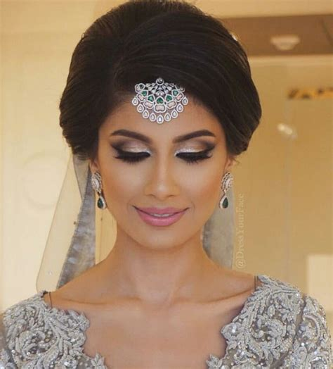 Bridal Hairstyles For Hair In India by 18 Most Pinned Indian Bridal Hairstyles Indian Makeup