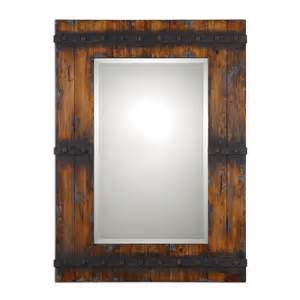 wood mirrors bathroom bathroom reclaimed wood mirror frame rustic bathroom